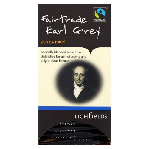 FAIRTRADE - Lichfields Earl Grey teabags - bulk portions sachets online